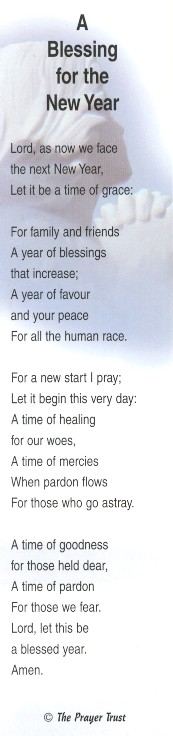 Bookmark: A Blessing for the New Year
